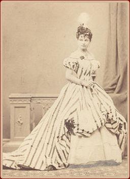 Markovics Ilka a Traviataban mint Violetta