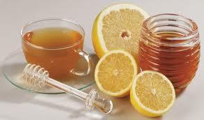 Citromos-mézes tea