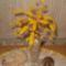 gyöngyfa sárgában