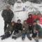 Balrol-jobbra:Lorant,Eszti,Erzsebet a nejem,Marika,Gyongyi,Jomagam