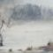 Köd a tó felett
