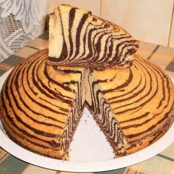 tigris sütemény