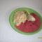 Pirított dara meggymártással főtt csirkecombbal 004