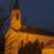 A templom este