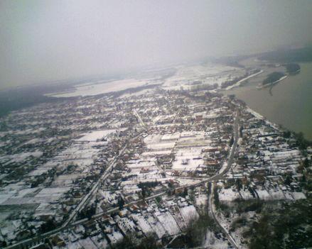 Gönyű felett télen2