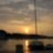 Lemegy a nap Supetar kikötő