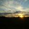 naplemente a Somfalvára vezető új utról.