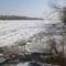Rajka, jégtorlódás a Duna folyam rajkai szakaszán, 2012. február 08.