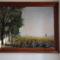 Turi György kónyi tájat ábrázoló festménye