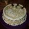 Madártej krémes torta