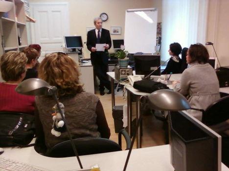 Saját szervezésű üzleti informatika tanfolyam volt Malév dolgozóknak 4