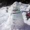 A hóemberünk még nagyobb,erősebb lett