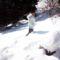 Eddig ér a hó