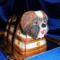 Shih-tzu kutya torta táskával