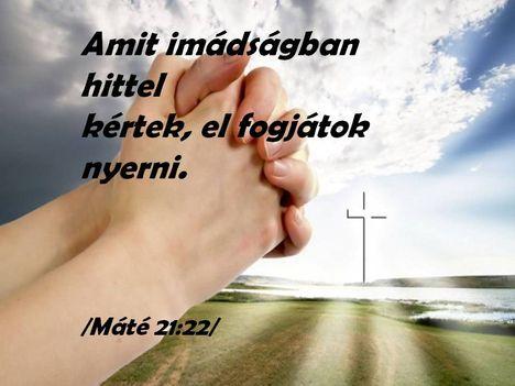 Hit és ima