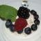 gyümölcskrémes habkoszorú