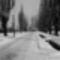 Fő utca télen 70-es évek közepén