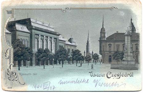 Cegléd régi képeslapokon    023