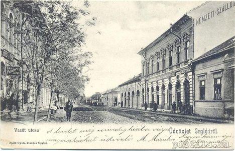 Cegléd régi képeslapokon    266