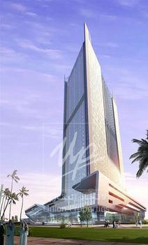 Dubai épülő irányítótornya