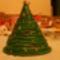 karácsonyfa asztaldísz