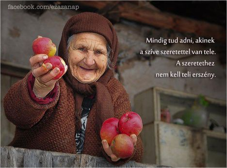 ...a szeretet nem irigykedik...!
