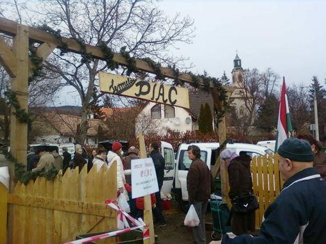 Téli piac Nagykovácsin