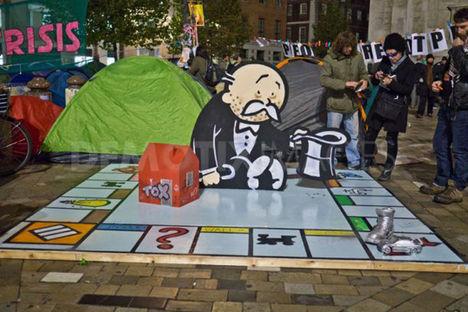 Occupy London antikapitalista városfoglalás 11.10-12.02.28. 8