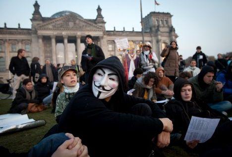 Occupy Mozgalom Tokyo-Párizs-Berlin-Frankfurt-Bécs 11