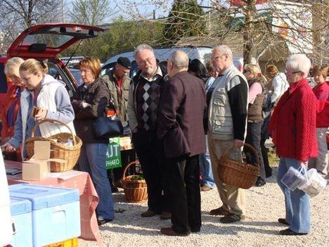 Őstermeloői piac Pilisszentiván