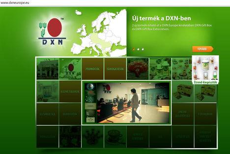 Új DXN honlap