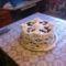 diós csokis torta