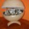 strucc tojás ékszertartó