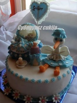 Babalátogatós torta
