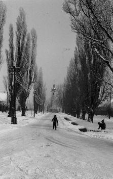 Fő utca télen