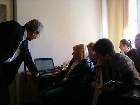 A második Malévos üzleti informatika csoport 4