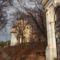 Stáció.Háttérben a Kálvária templom