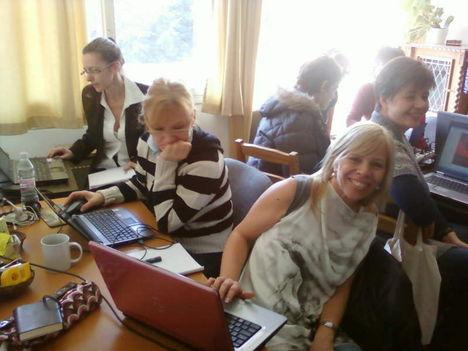 Üzleti informatika tréning mentorálása volt Matáv dolgozóknak 1