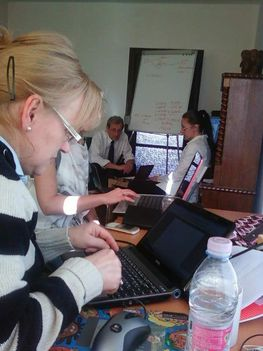 Üzleti informatika tréning mentorálása volt Matáv dolgozóknak 2