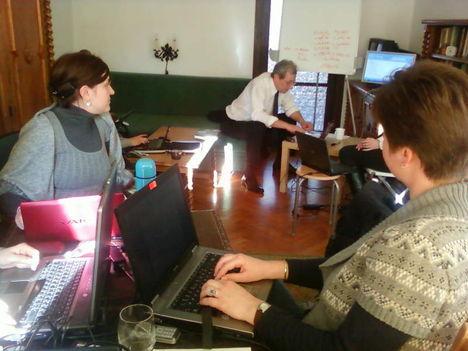 Üzleti informatika tréning mentorálása volt Matáv dolgozóknak 4