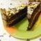 Csoki torta szeletek