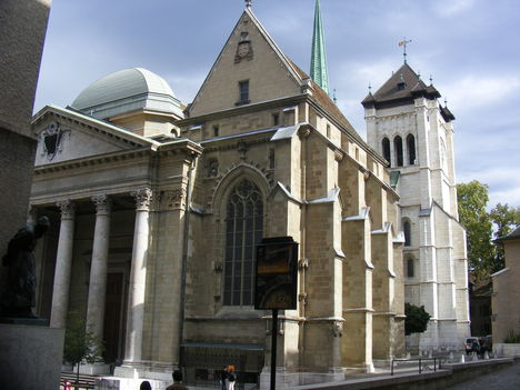 Genf. Szent Péter katedrális