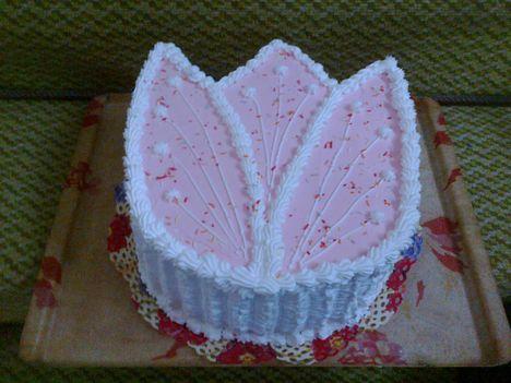 diós vaniliás torta
