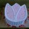 diós vaniliás tulipán torta