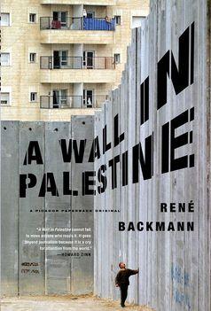egy fal Palesztínában