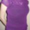 lila-fialový pulover