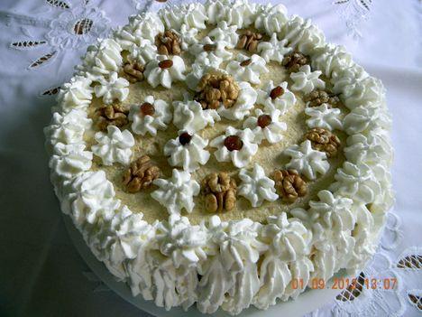 Párom szülinapi tortája