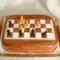 Sakk tábla torta