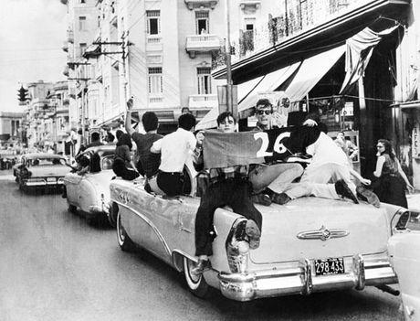 1959 január a forradalom győzelmének ünnepe Havannában