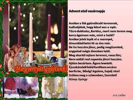 Advent 1 vasárnapja